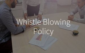Whistle-blowing-policy