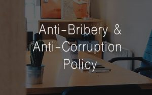 Anti-Bribery and Anti-Corruption Policy